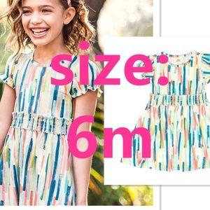 NEW Wildflowers Technicolor Betty Dress size 6M